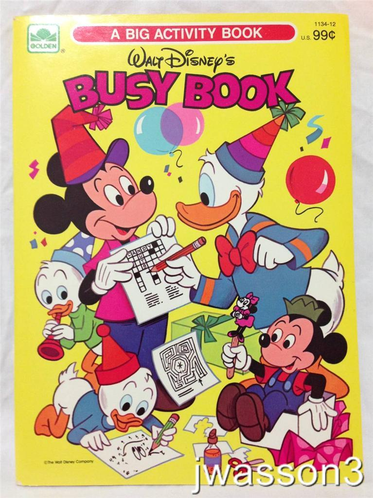 Walt Disney's Busy Book