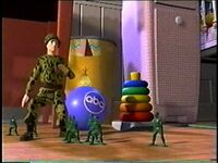 ABC Toy Story Army Men Bumpers