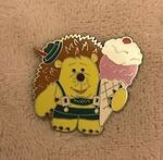 Mr. Pricklepants Ice Cream Pin