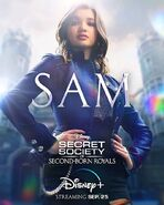 Princess Sam Poster