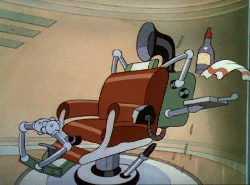 Mechanical Barber Chair
