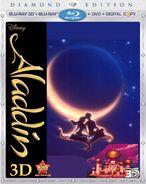 Aladdin Diamond Edition Blu-ray 3D + 2D + DVD + Digital Copy