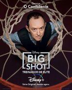 Big Shot - Treinador de Elite - Pôster de Personagem - 09