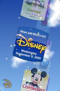 Disney app screen shot 1