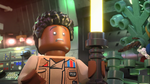 Finn with yellow lightsaber - The LEGO Star Wars Holiday Special