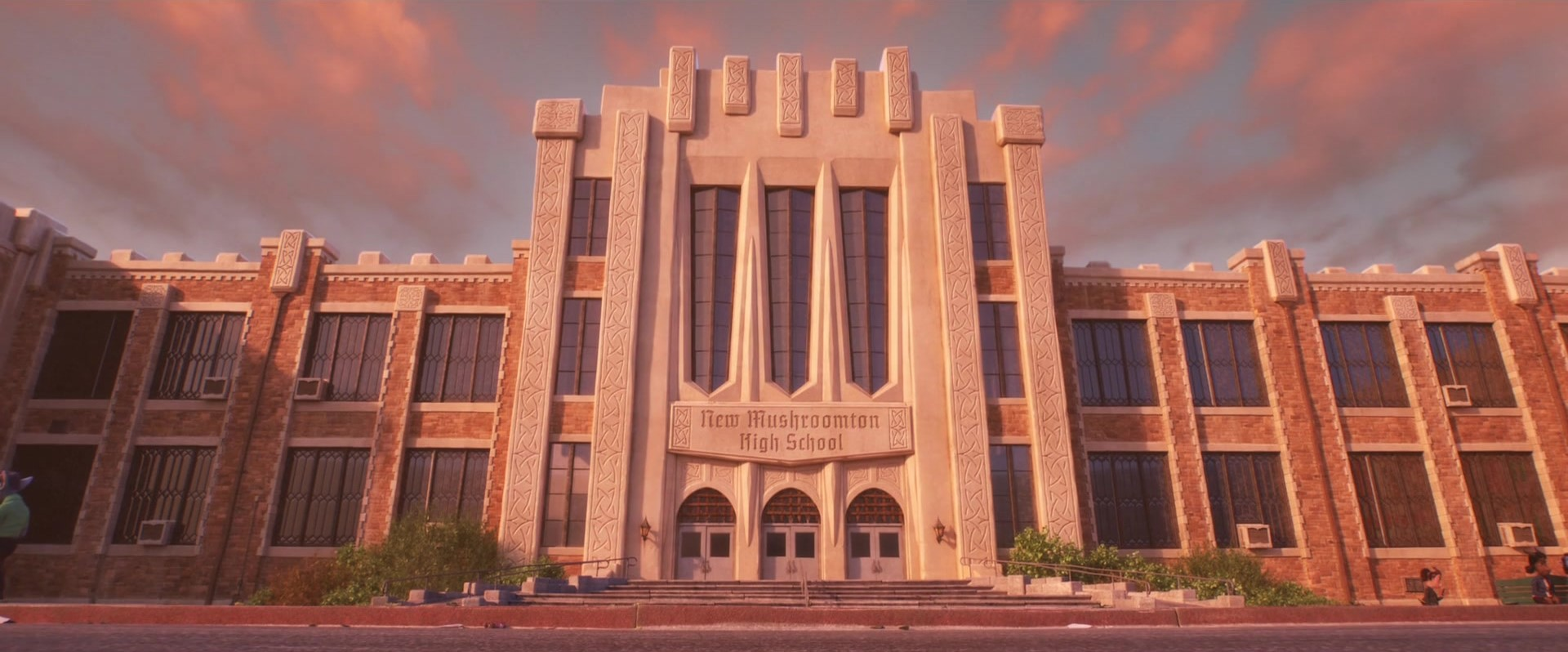 New Mushroomton High School