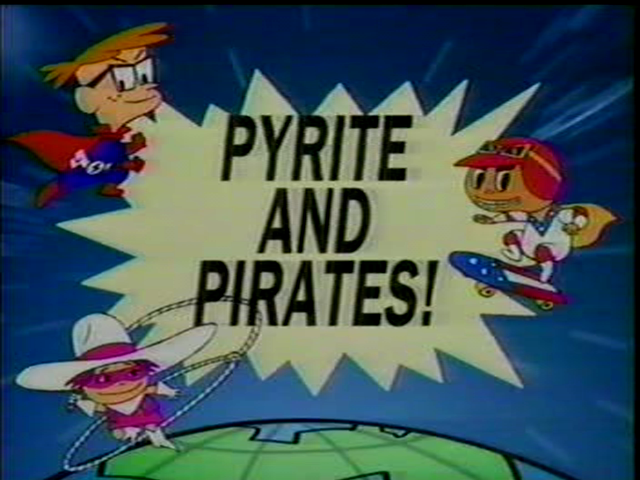 Pyrite and Pirate!