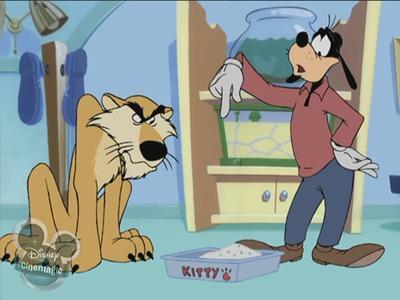 Goofy's Big Kitty