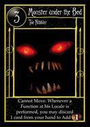 Bed Monster Card
