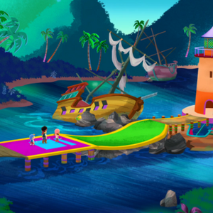 Pirate Putt-Putt CourseHole two.png