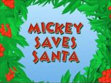 Mickey Salva o Papai Noel