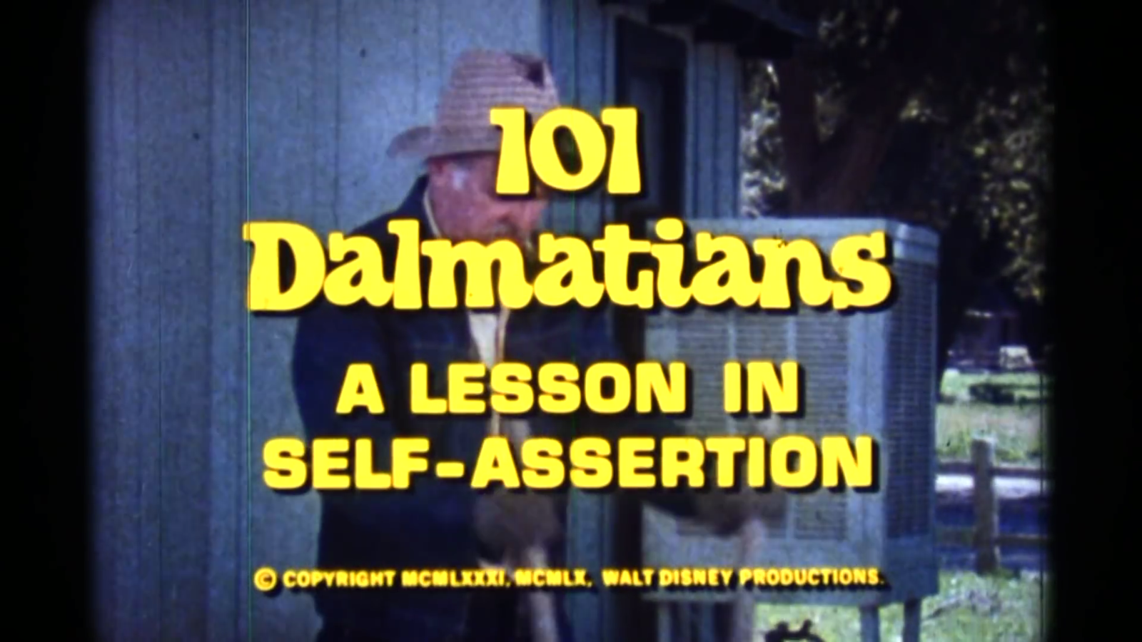 101 Dalmatians: A Lesson in Self-Assertion
