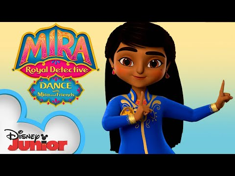 Dance with Mira and Friends 💃 - Compilation - Mira, Royal Detective - Disney Junior