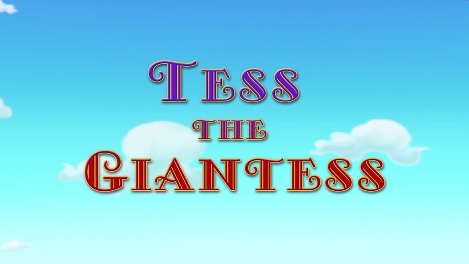 Tess the Giantess