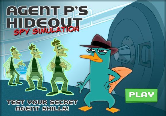 Agent P's Hideout - Spy Simulation