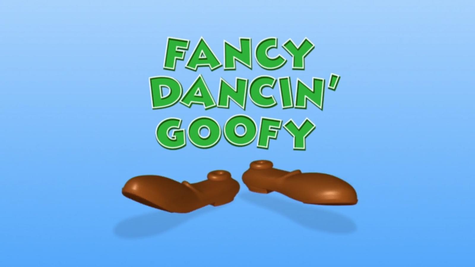 Fancy Dancin' Goofy