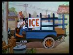 Goofy ice truck