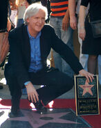 James Cameron Walk of Fame ceremony