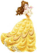 Sticker princesse Belle