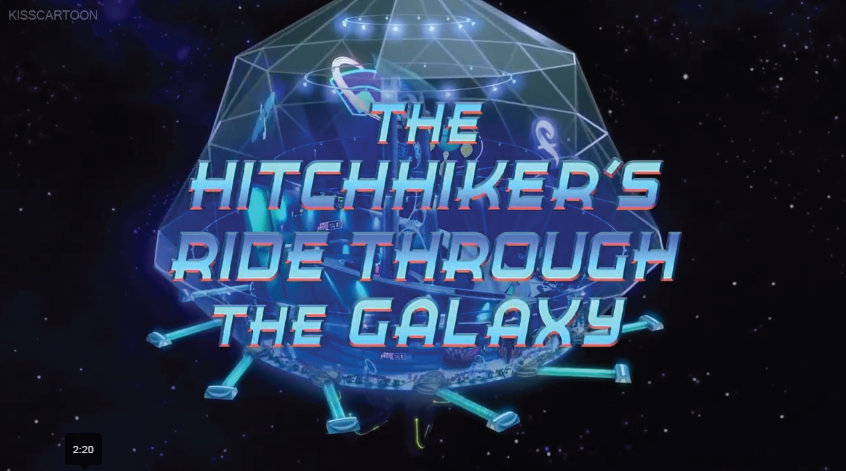 The Hitchhiker's Ride Through the Galaxy