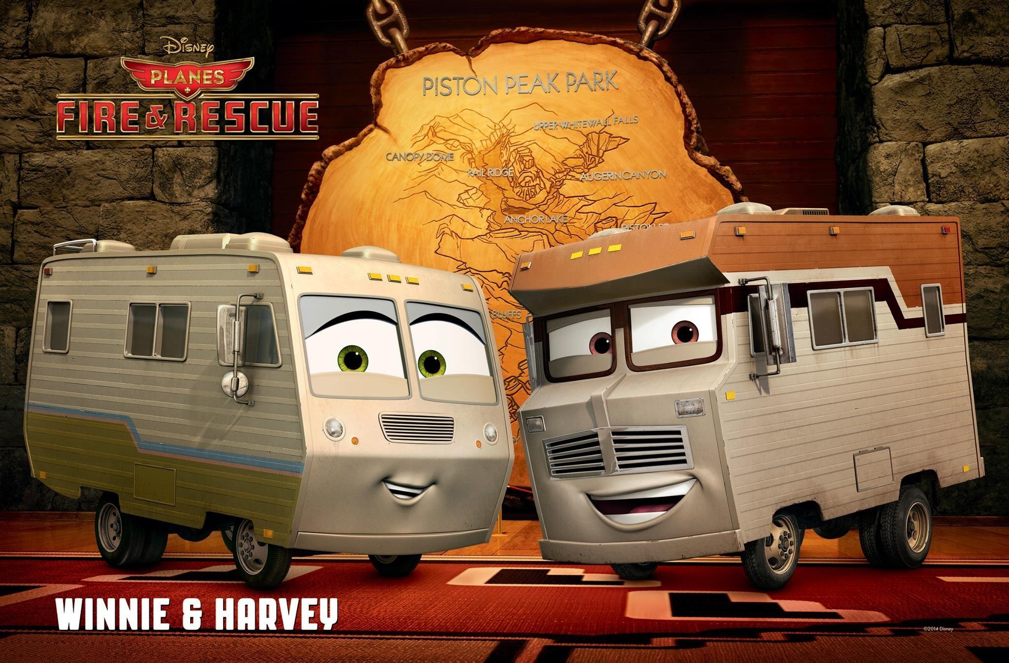 Harvey e Winnie