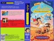 Aladdin criaturas de invenções 1996 abril video vhs
