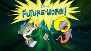 Future-Worm! - Title Card