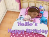 Hallie's Happy Birthday