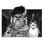 Shakespeare's Jedi the Last - Chewie and porg