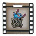 Stitch Crashes Disney Pin Holder exclusive pin