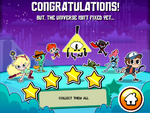 Disney XD Hero Trip Congratulations Screen
