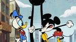 Donald-Mickey tantrum throw