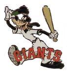 San Francisco Giants Goofy