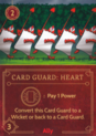 DVG Card Guard Heart