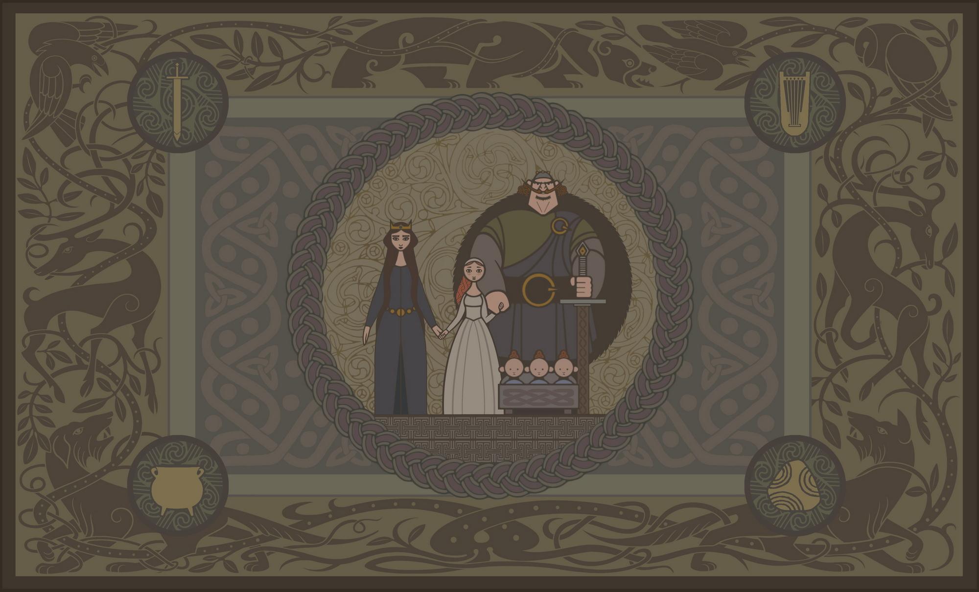DunBroch Family Tapestry