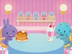 Pancake Milkshake design