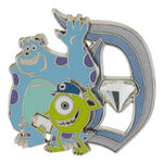 Disneyland 60th Anniversary Mike and Sulley Pin