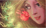 Fairies Rapunzel concept art