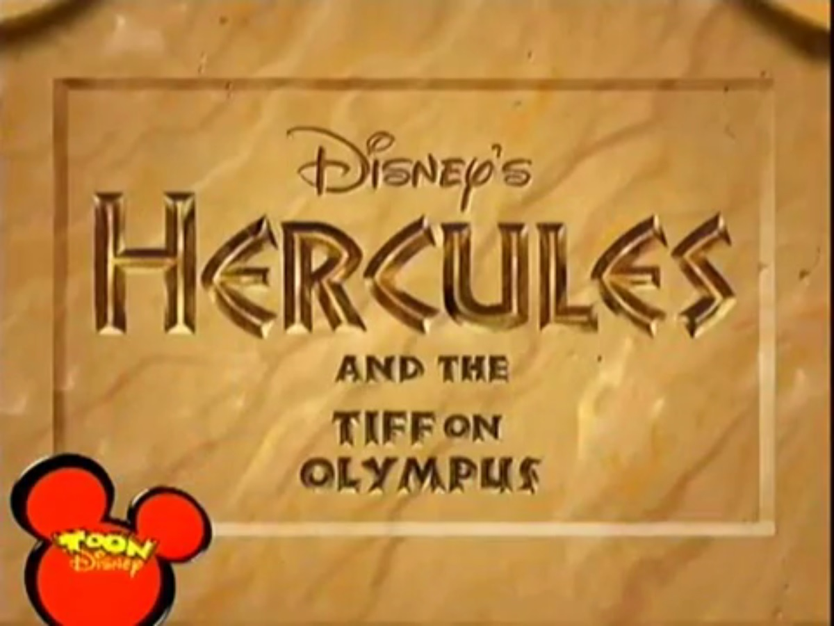 Hercules and the Tiff on Olympus
