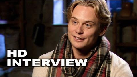 "Into the Woods Billy Magnussen ""Rapunzel´s Prince"" Behind the Scenes Movie Interview"