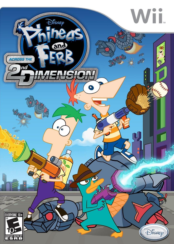 Phineas e Ferb O Filme: Através da 2ª Dimensão (vídeo game)