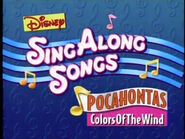 Colors of the Wind 1995 closing title