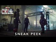 Falcão e O Soldado Invernal - Sneak Peek Oficial Dublado - Marvel Studios