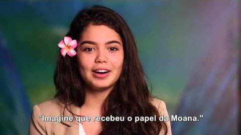 MOANA - Eu sou Moana