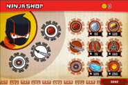 Monster Mayhem - Ninja Shop