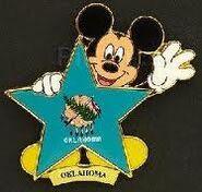 Oklahoma Flag Pin