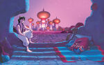 Disney Princess Jasmine's Story Illustration 2