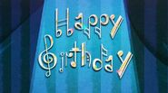 The Birthday Song 5