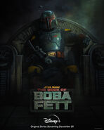 The Book of Boba Fett Official Poster