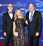 Chris Buck, Jennifer Lee & Peter Del Vecho Frozen 2 premiere